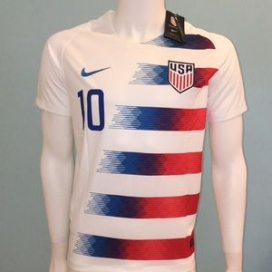 Other - 2018 USA Pulisic Soccer Jersey #10 Home